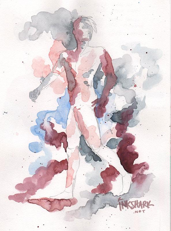 2018 | graphite, watercolor