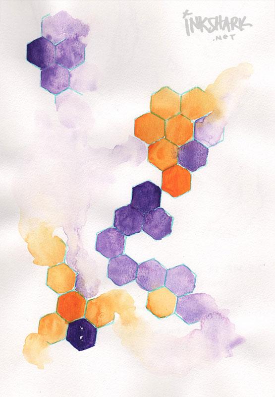 2018 | Prismacolor colored pencil, watercolor