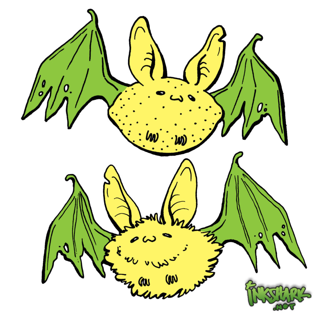 Lemon Bat Bitties